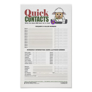 Quick Contacts [Little Lamb: Lord of Salvation] Poster