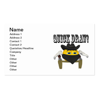 Quick Draw Pack Of Standard Business Cards