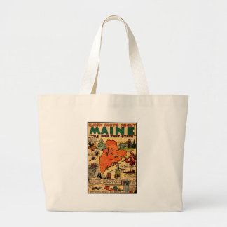 Quick Facts About Maine Large Tote Bag