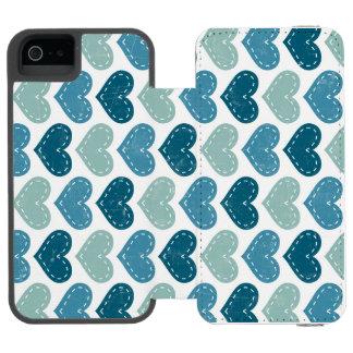 Quick Fearless Intelligent Calm Incipio Watson™ iPhone 5 Wallet Case