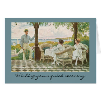 Quick Recovery for Tennis Lovers Card