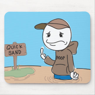 Quicksand Mouse Mat
