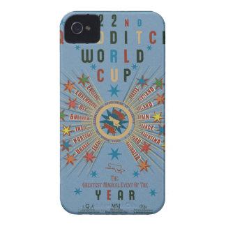 Quidditch World Cup Blue iPhone 4 Case
