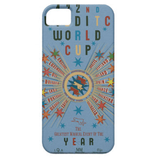 Quidditch World Cup Blue iPhone 5 Cases
