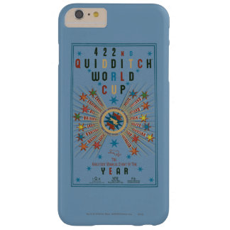 QUIDDITCH™ World Cup Blue Poster Barely There iPhone 6 Plus Case