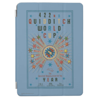 QUIDDITCH™ World Cup Blue Poster iPad Air Cover