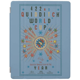 QUIDDITCH™ World Cup Blue Poster iPad Cover