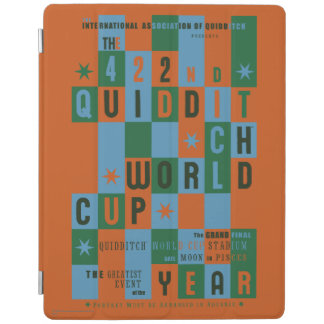 QUIDDITCH™ World Cup Checkerboard Poster iPad Cover