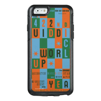 QUIDDITCH™ World Cup Checkerboard Poster OtterBox iPhone 6/6s Case