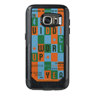 QUIDDITCH™ World Cup Checkerboard Poster OtterBox Samsung Galaxy S7 Case