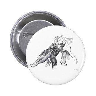 Quiero Tango 6 Cm Round Badge