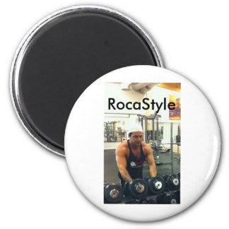 Quiet approximately, RocaStyle 6 Cm Round Magnet