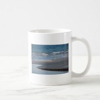 Quiet Beach Classic White Coffee Mug