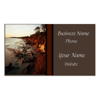 Quiet Beach Pack Of Standard Business Cards