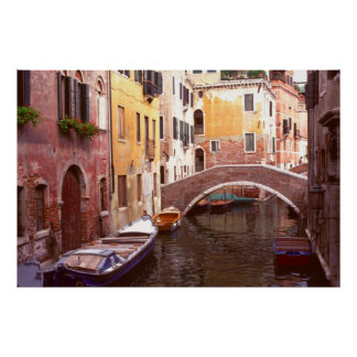 Quiet Corner of Venice Poster