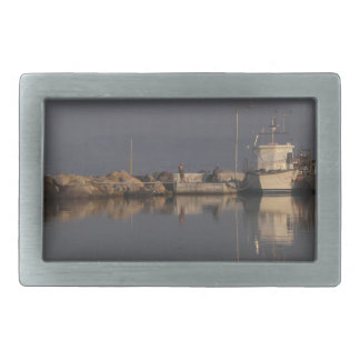 Quiet Harbor Rectangular Belt Buckles