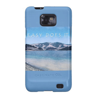Quiet Lake Easy Does It Galaxy SII Case