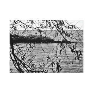 Quiet Leaves Canvas Print