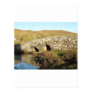 Quiet man bridge postcard