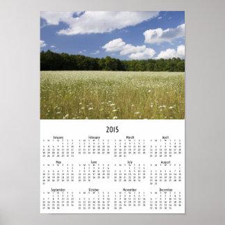 Quiet Meadow 2015 wall calendar Poster