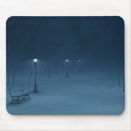 Quiet Night Mouse Pad
