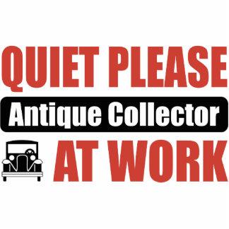 Quiet Please Antique Collector At Work Photo Sculptures