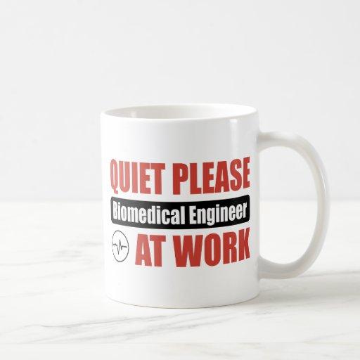 Quiet Please Biomedical Engineer At Work Mugs