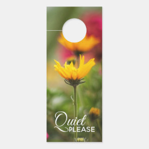 Quiet Please Door Hanger