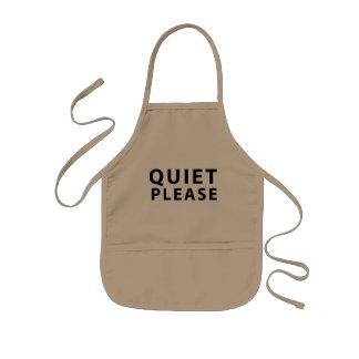 Quiet Please Kids Apron