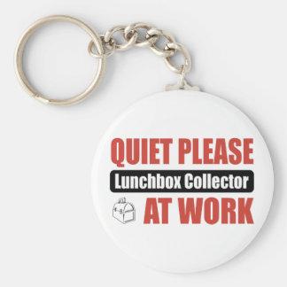 Quiet Please Lunchbox Collector At Work Keychains