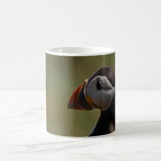 Quiet Puffin Basic White Mug