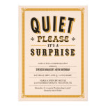 Surprise Birthday Invites