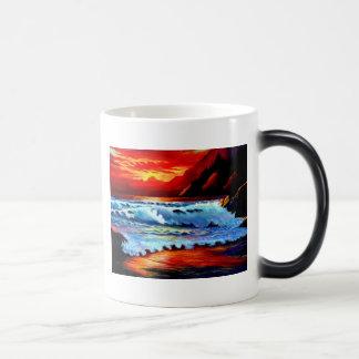 Quiet Waves Morph Mugs