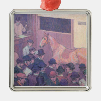 Quiet with all Road Nuisances, c.1912 (oil on canv Christmas Ornament