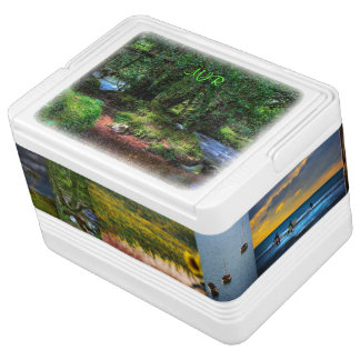 Quietly Flows The River - Dartmoor National Park Igloo Cool Box