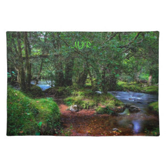 Quietly Flows The River - Dartmoor National Park Placemat