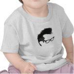 Quiff + Specs = Indefatigable Genius Shirt