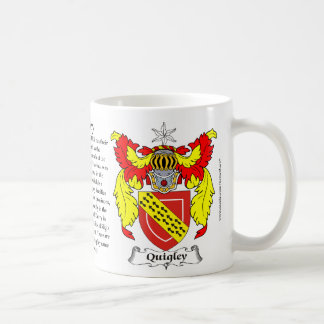 Quigley Family Coat of Arms Coffee Mug