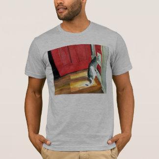 Quigley the Doorcat Dark T-shirt