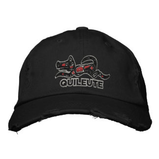Quileute  Embroidered Hat