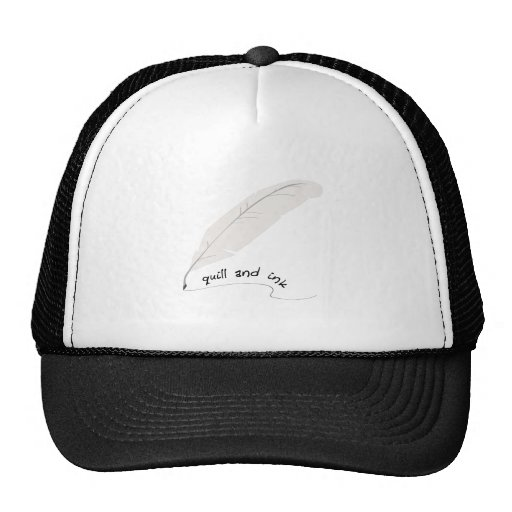 Quill And Ink Mesh Hat