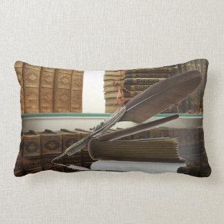 Quill antique writer vintage quills cushion throw pillows