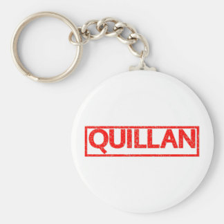 Quillan Stamp Key Ring