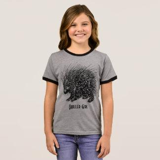 Quiller Girl Ringer T-Shirt