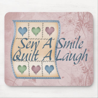 Quilt a Laugh Mouse Mat