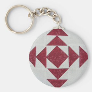 Quilt Block Key Chain 3