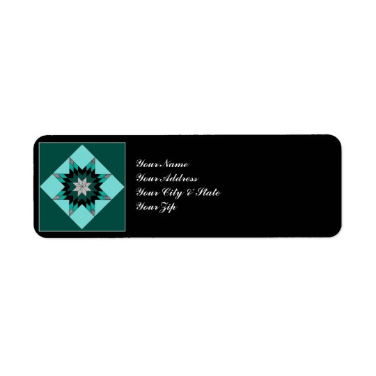 Quilt Block Label