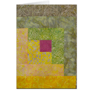 Quilt Block Note Card