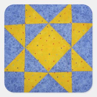 Quilt Block Stickers