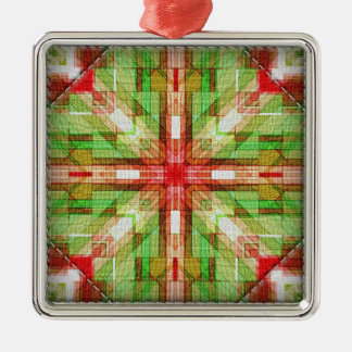 Quilt blocks series #1 christmas ornament